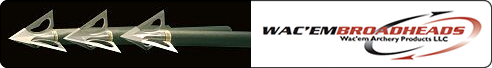 WeHuntSC.com - Wac'em Archery Products - Broadheads