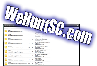 WeHuntSC.com - SC Deer Hunting Message Board