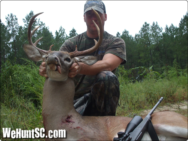 WeHuntSC.com - Ben Sullivan with his first buck