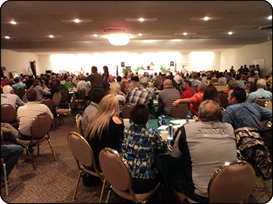 WeHuntSC.com - The Lancaster County Ducks Unlimited Banquet was packed
