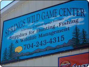 WeHuntSC.com - Springs Wild Game Center