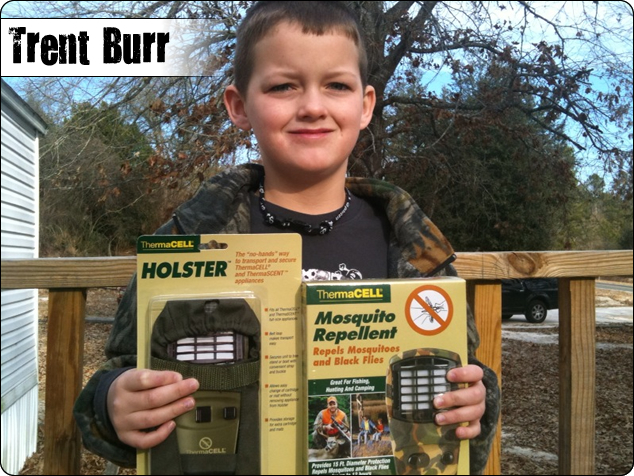 WeHuntSC.com - Kid's Buck of the Year Winner - Trent Burr