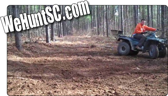 WeHuntSC.com - Backwoods Food Plot with a GroundHog MAX