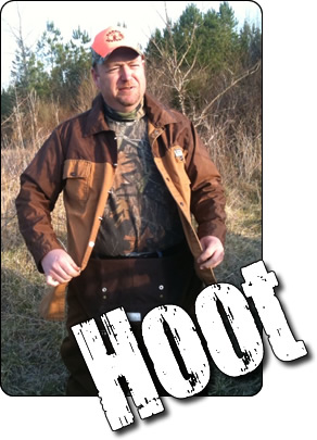 WeHuntSC.com - Hoot the wabbit hunter