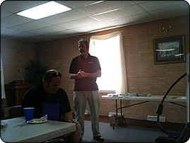 WeHuntSC.com - Keith Frachiseur Speaking at the Hunter's Night Out