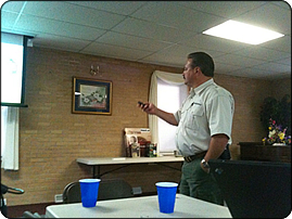 WeHuntSC.com - Mike Lee Speaking at The Hunter's Night Out