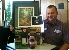 WeHuntSC.com - Steve Black with his prizes