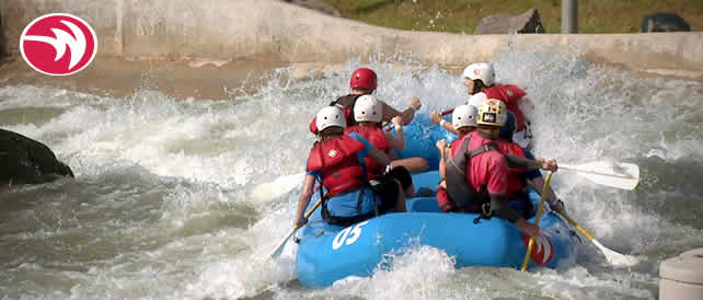 WeHuntSC.com - Rafting at the US National White Water Center