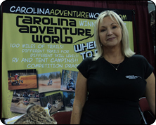 WeHuntSC.com - 2010 Pee Dee Deer Classic Review - Carolina Adventure World Booth Image