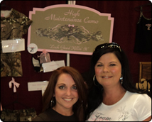 WeHuntSC.com - The High Maintenance Camo Booth