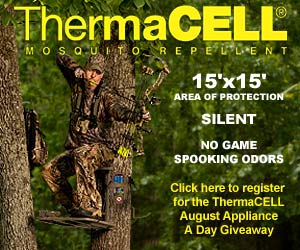 WeHuntSC.com - Thermacell Give-Away Banner
