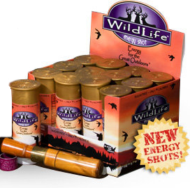 WeHuntSC.com - Wildlife Energy Shots