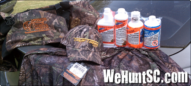WeHuntSC.com, - Scent Control Products and True Timber Camo