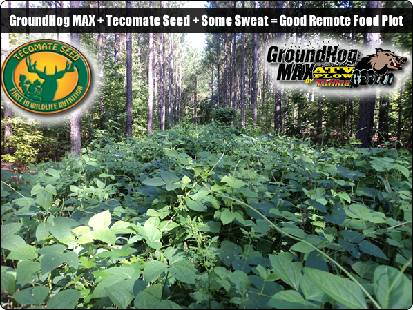 WeHuntSC.com - A pic of the Tecomate Seed Remote Food Plot