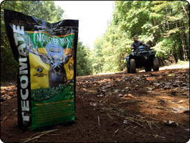 WeHuntSC.com - Tecomate Seed's Monster Mix bag on the soil