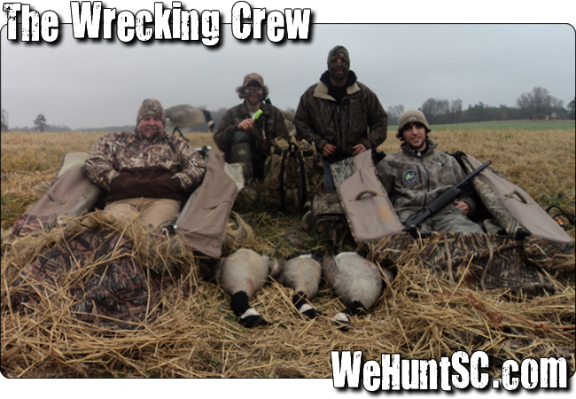 WeHuntSC.com - The post hunt photo