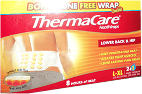 WeHuntSC.com - ThermaCare's Heat Wraps
