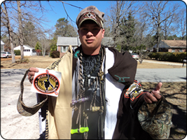 WeHuntSC.com - John Shell with his prizes
