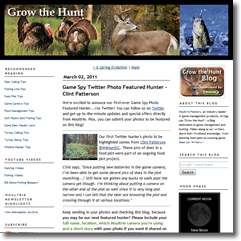 WeHuntSC.com - Moultrie's Grow the Hunt Blog Site