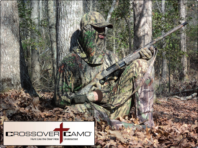 WeHuntSC.com - Me wearing CrossOver Camo on the 2nd Hunt