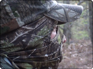 WeHuntSC.com - Mark Turner scanning for a gobbler