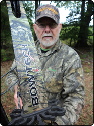 WeHuntSC.com - Mr. Bruce Puette and his Bow-Tech Tomkat
