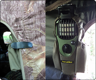 WeHuntSC.com - Making use of the new Thermacell Swivel Clip