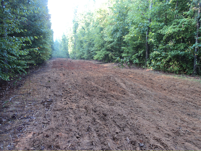 WeHuntSC.com - Food Plot after being plowed