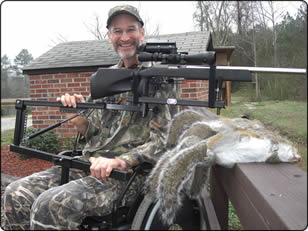 WeHuntSC.com - Andy Hahn with his adaptive rig