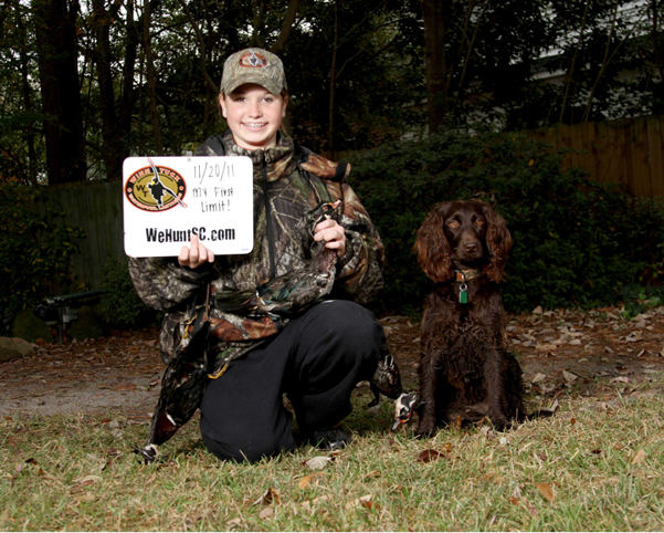WeHuntSC.com - 2012 Waterfowl Competition Winner