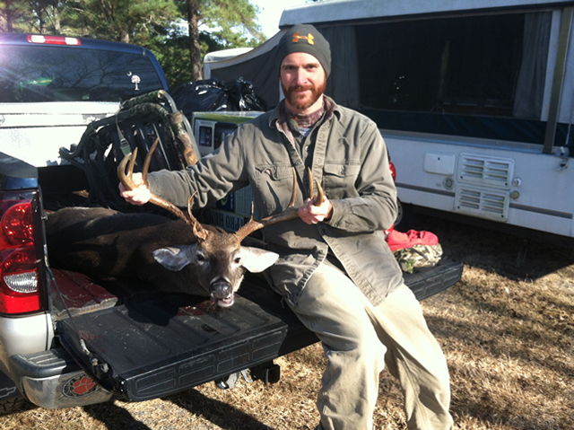 Mark Anderson's 10 Point Buck
