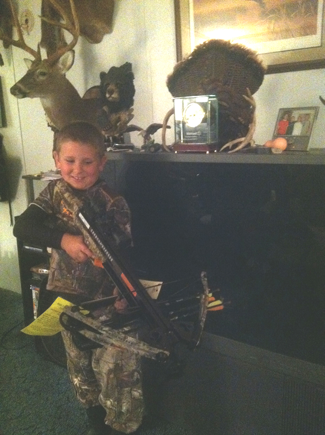 Caiden and Crossbow