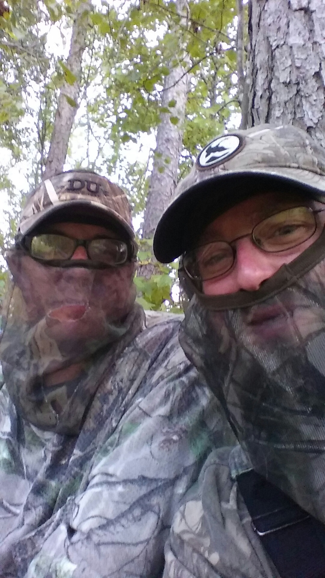Jason and I in the stand
