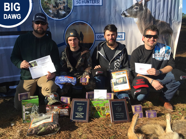 Big Dawg Award 2016 Coyote Hunting Competition