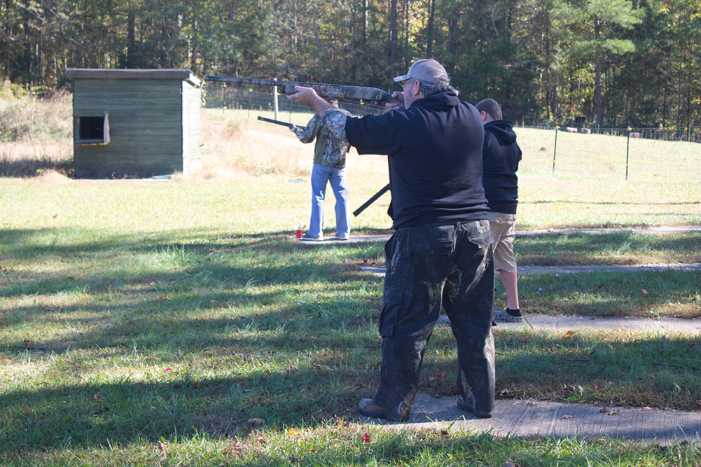 Vets at Take Aim Training