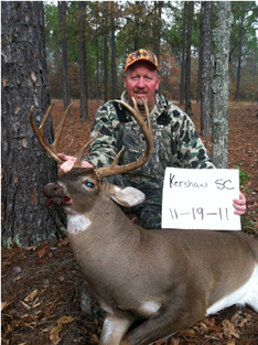 WeHuntSC.com - The 2011 Buck of the Year Competition Winner