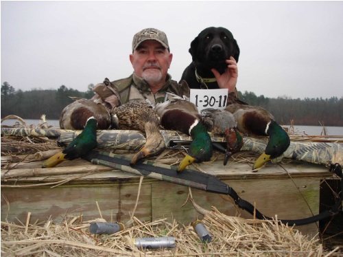 WeHuntSC.com - Waterfowl finalist Dale Knight