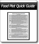 WeHuntSC.com - Food Plot Quick Guide