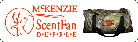 McKenzie Scent Fan Duffle Bag