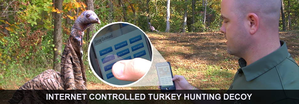 WeHuntSC Tech Turkey Banner - Internet Controlled Hunting Decoys