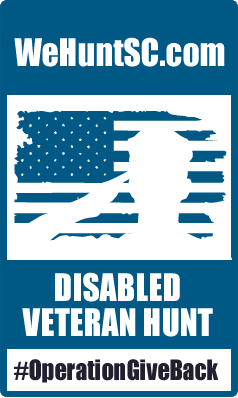 WeHuntSC.com Disabled Veteran Hunt
